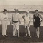 Leo Sirota on the beach