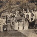 Leo Sirota with students