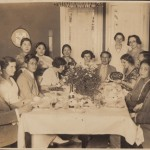 Party at Sirotas house in 1933
