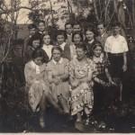 Beate at German school in 1936