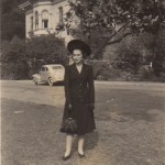 Beate at Mills College in 1940