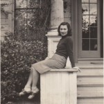 Beate at Mills College in 1941, seventeen years old
