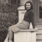 Beate at Mills College in 1941, seventeen years old wide