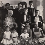 Beate with family in 1958