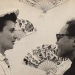 Beate with Munakata Shiko in 1959